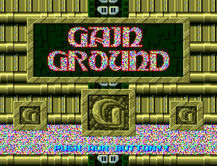Gain Ground SX Retro Review (PC Engine Super CD-ROM) - Hey Poor Player