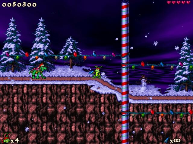 Jazz Jackrabbit Holiday Hare 98