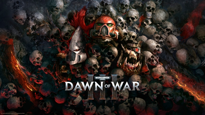 Warhammer 40,000 Dawn of War III title