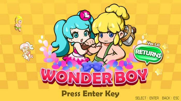 wonder boy returns