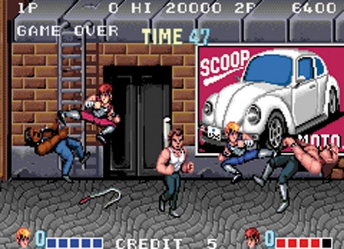 Double Dragon Video Games
