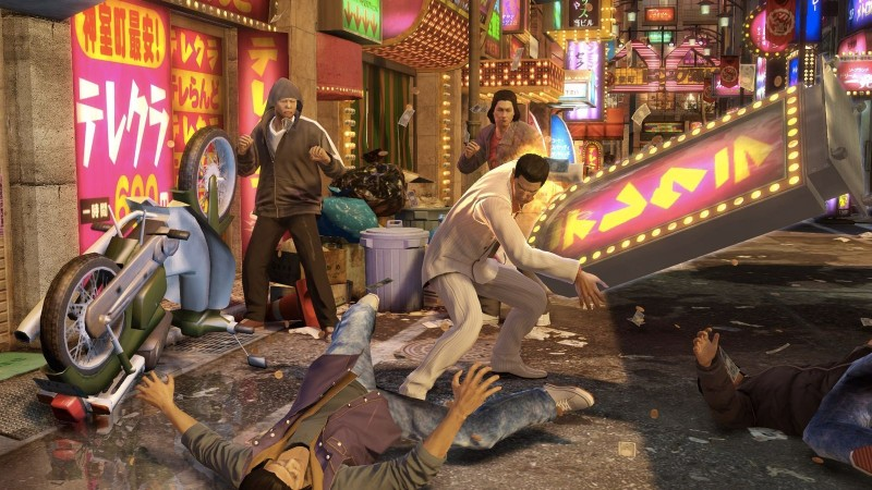 yakuza 0 fight