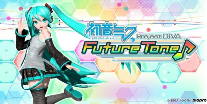 Hatsune Miku: Project DIVA Future Tone title