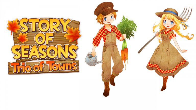 Story of Seasons Trio of Towns Banner