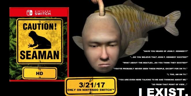 Album Art for Hey Poor Podcast Episode 93: Seaman HD Remake Confirmed