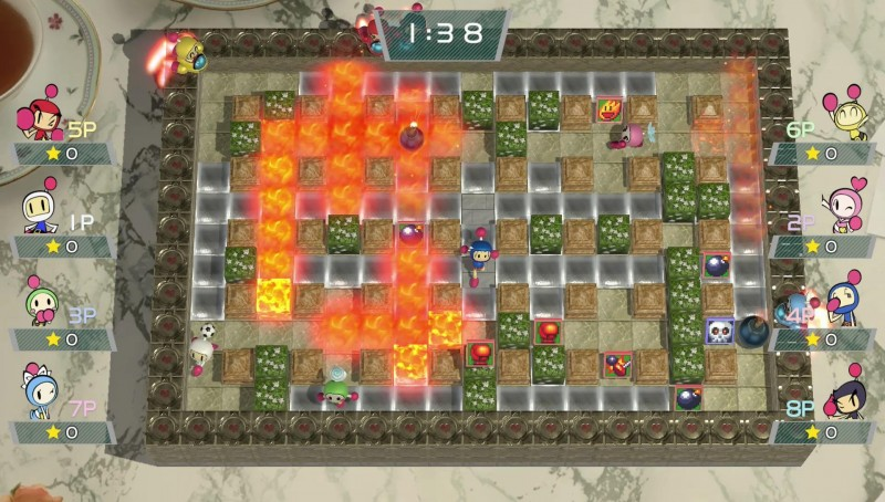 Super Bomberman R Multiplayer