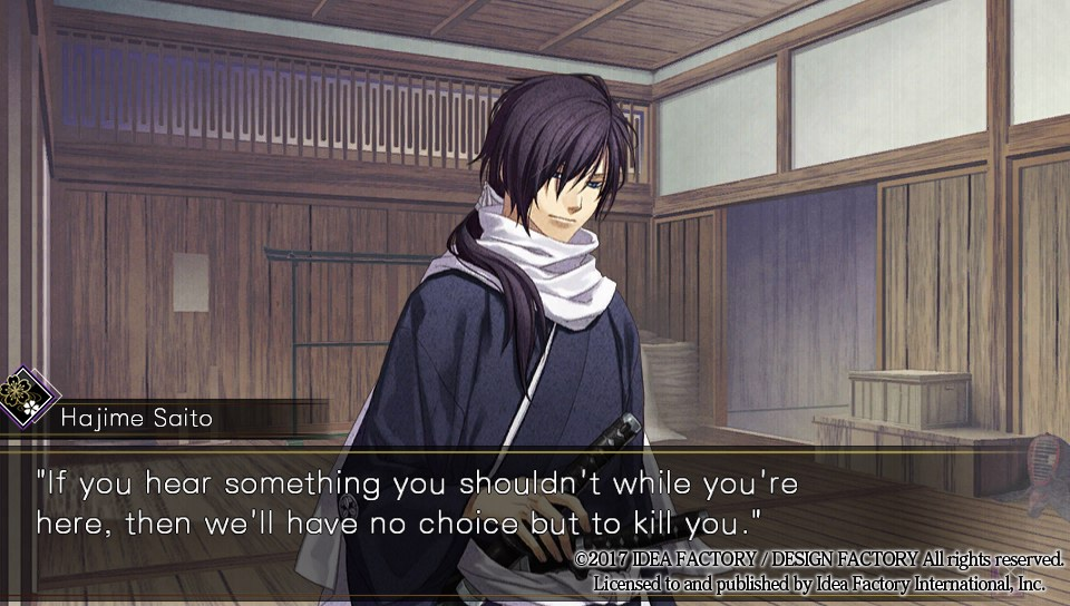 Hakuoki: Kyoto Winds 1