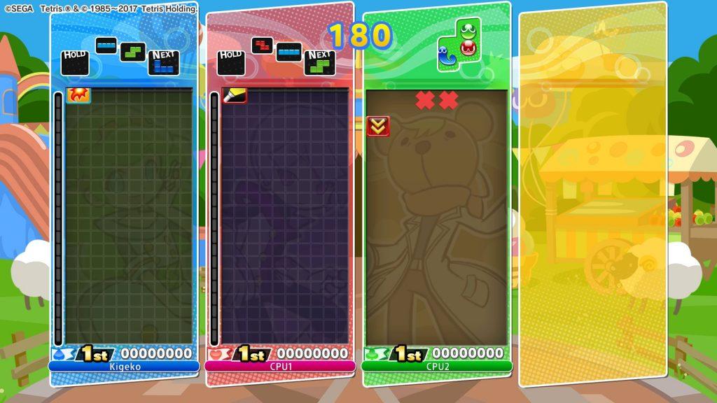 Puyo Puyo Tetris Review