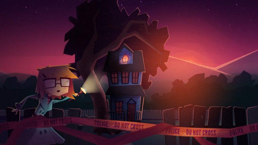Jenny Leclue Detectivu Kickstarter House Trailer