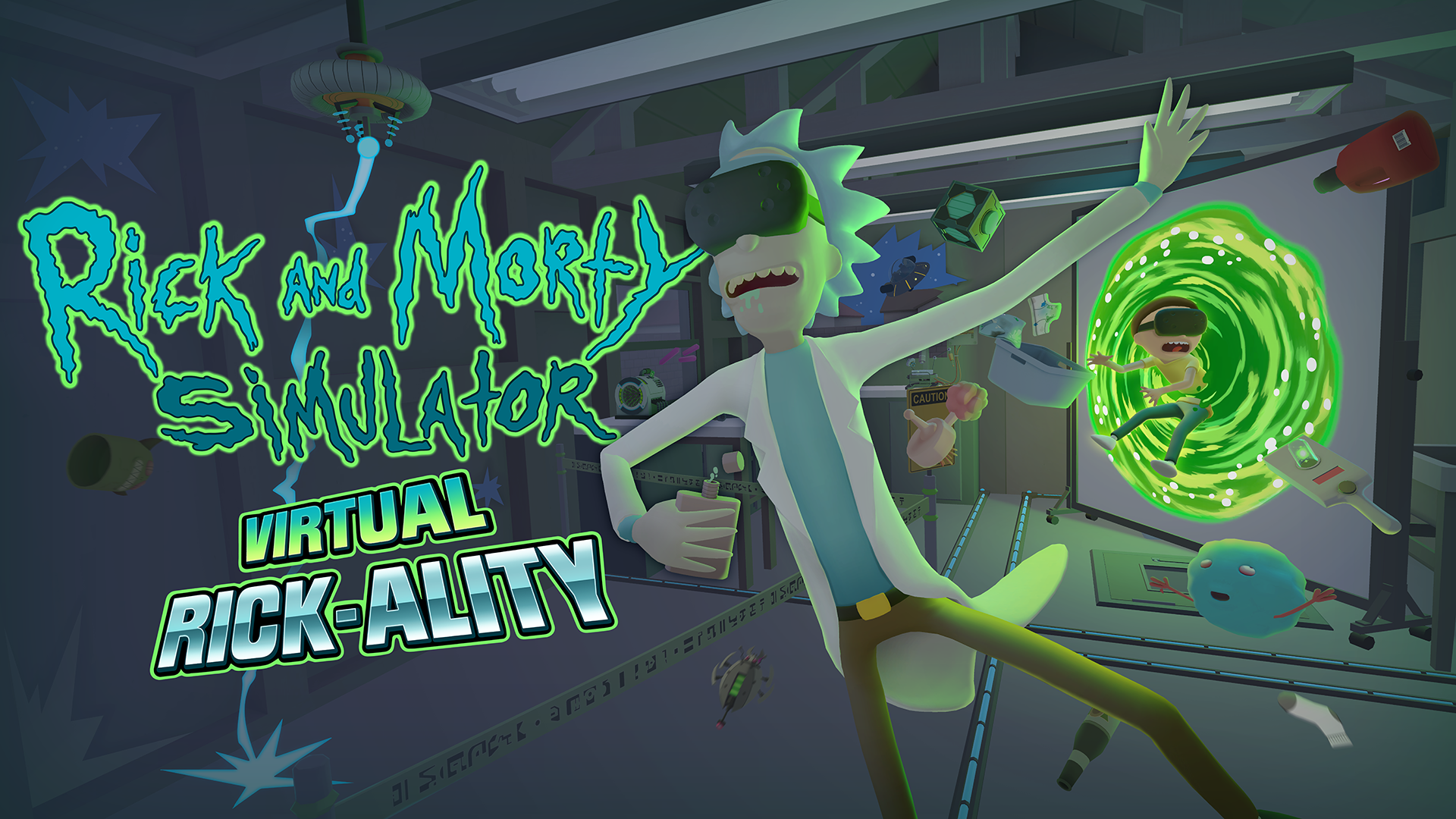 Get Schwifty Rick And Morty Virtual Rick Ality Now Available