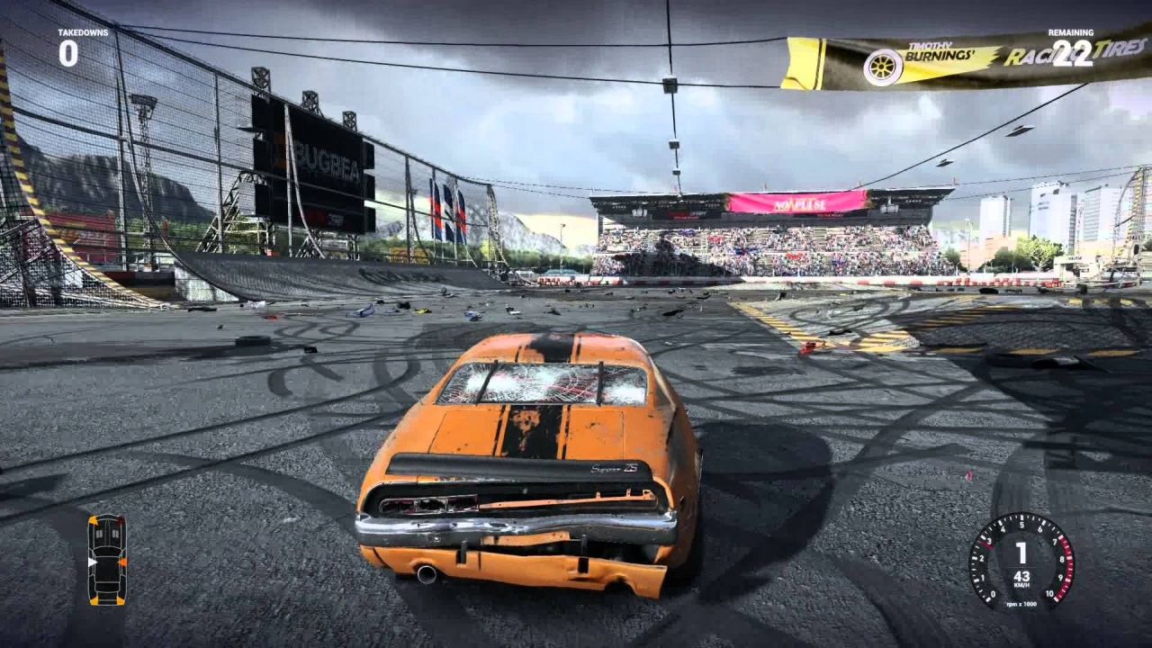 flatout 4 total insanity review hey poor player. Black Bedroom Furniture Sets. Home Design Ideas