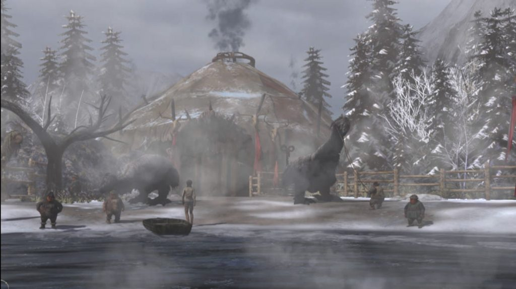 Escaped Syberia 3