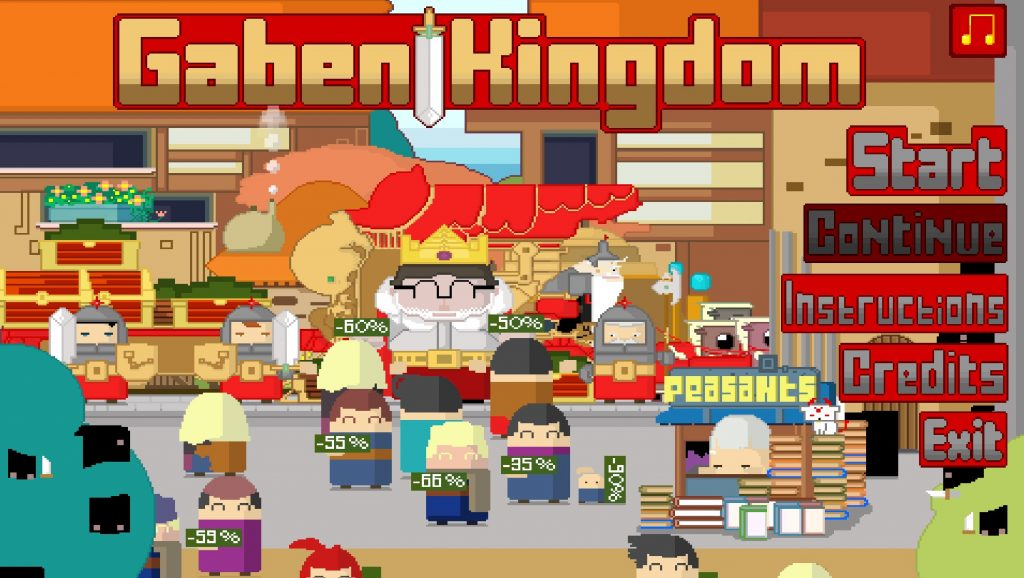Gaben Kingdom Title Review