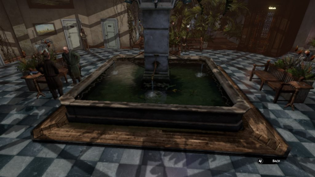 Room Syberia 3 key puzzle