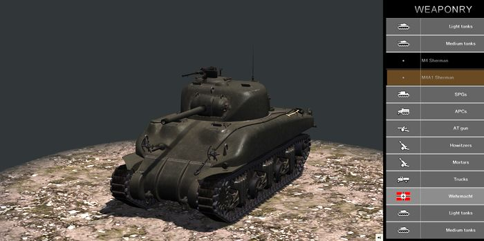 Tank Warfare - Tunisia 1943 screenshot 1