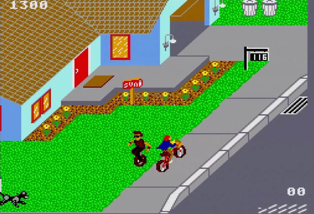 Paperboy Review (Sega Master System) - Hey Poor Player
