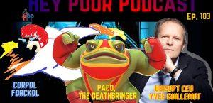 album art for hey poor podacast episode 103: the hey poor player cinematic universe