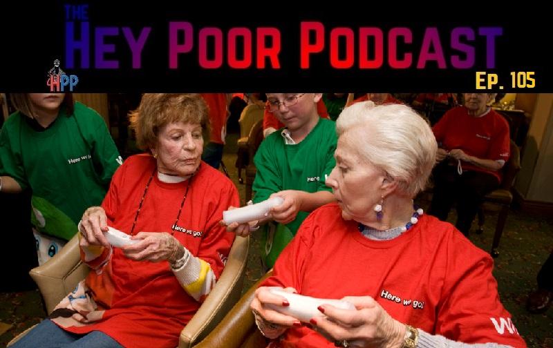 Album Art for Hey Poor Podcast Episode 105