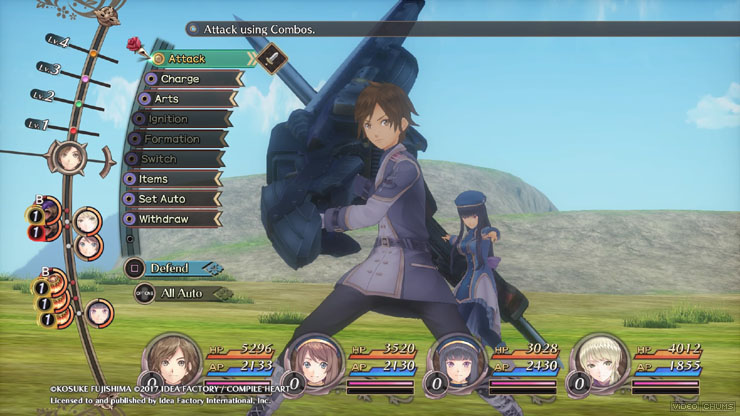 dark rose valkyrie review walkthrough