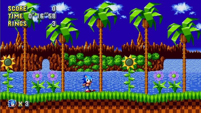 Sonic Mania Green Hill