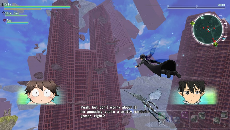 Accel World VS Sword Art Online: Millennium Twilight 3