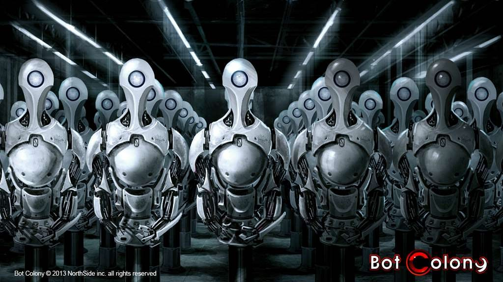 Bot Colony Title Screen