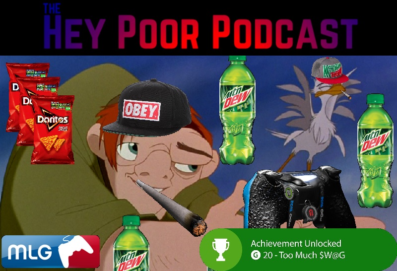 album art for Hey Poor Podcast Episode 108: The Hunchback of Notre Game
