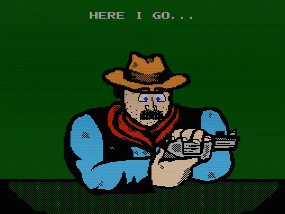 Super Russian Roulette cowboy