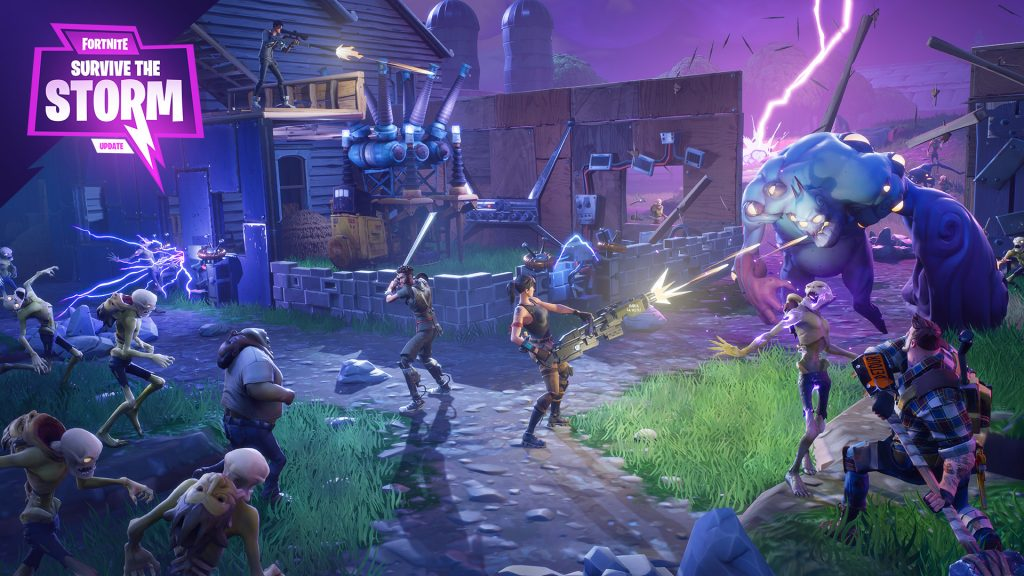 fortnite survive the storm
