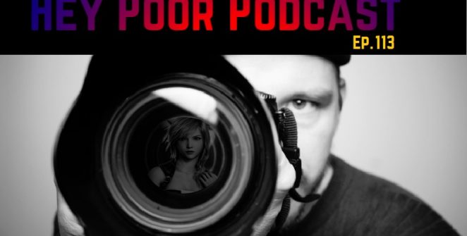 album art for Hey Poor Podcast Episode 113: Investigative Nude Mod Journalism