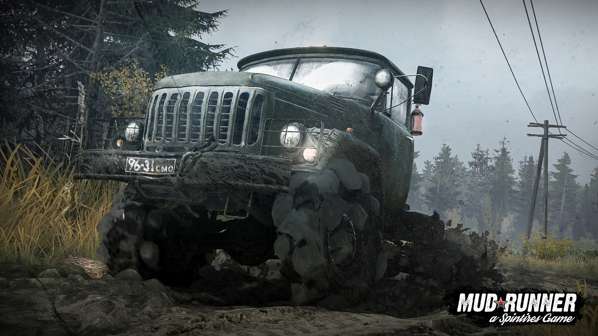 spintires mudrunner trucks its way on to xbox one ps4. Black Bedroom Furniture Sets. Home Design Ideas