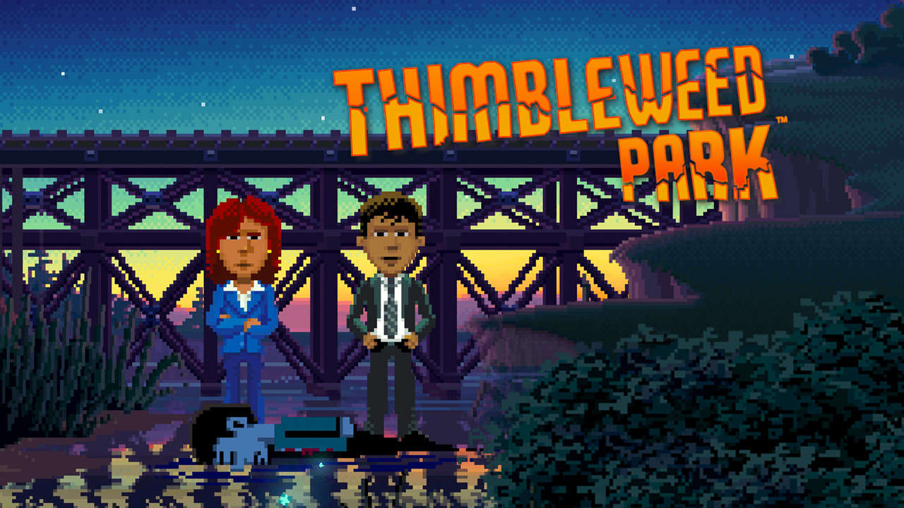 Image result for thimbleweed park