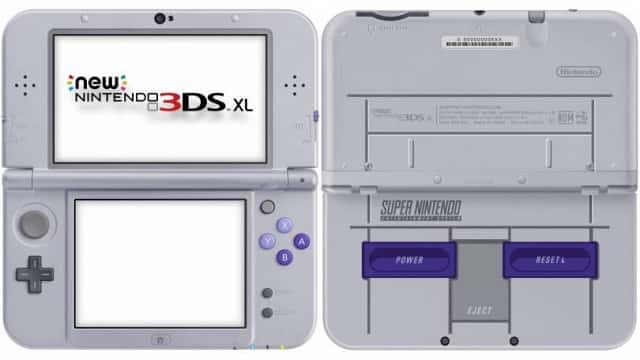 SNES New 3DS XL