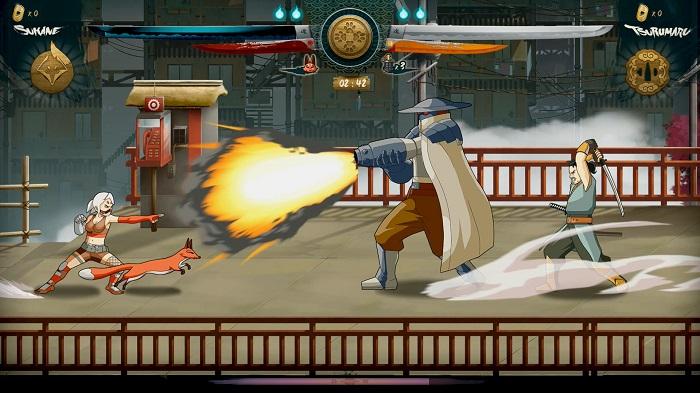 Samurai Riot Fox