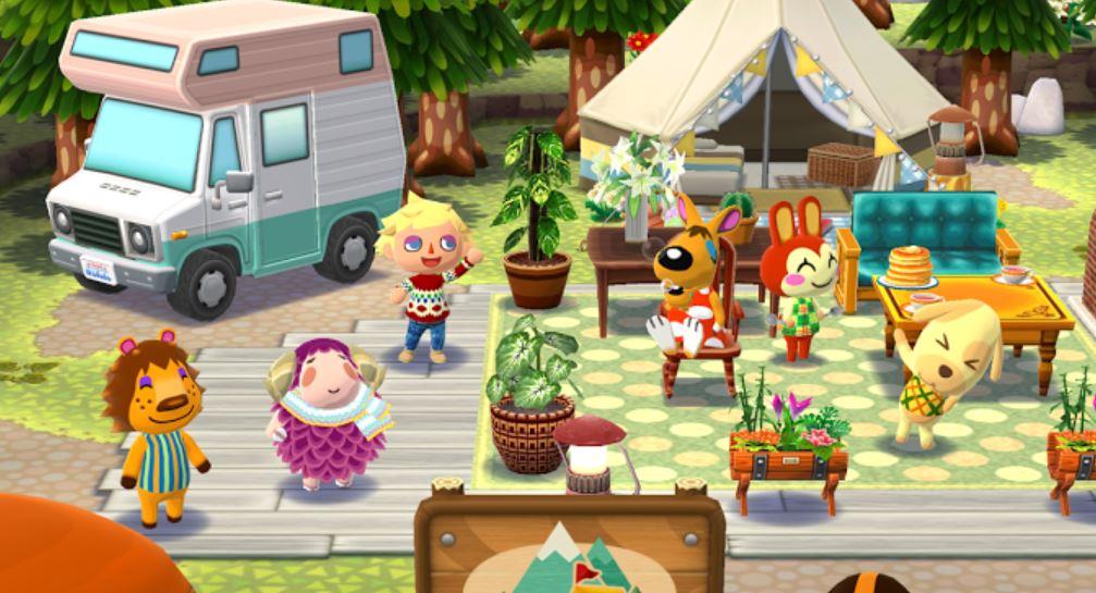 Pocket Camp Animal Crossing