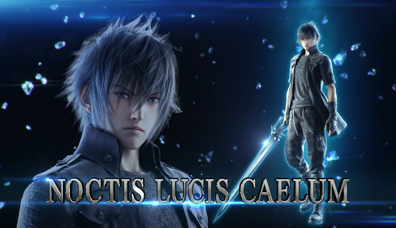 Noctis Lucis Caelum Final Fantasy Xv Artwork Hd Games 4k: Noctis Lucis Caelum Enters The Tekken 7 Arena Spring 2018