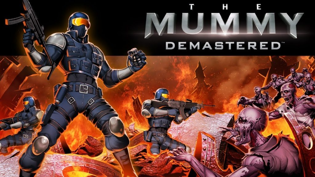 The Mummy Demastered Banner