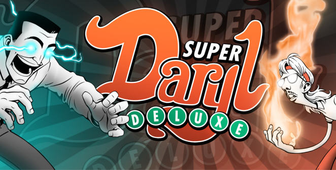 Super Daryl Deluxe Logo