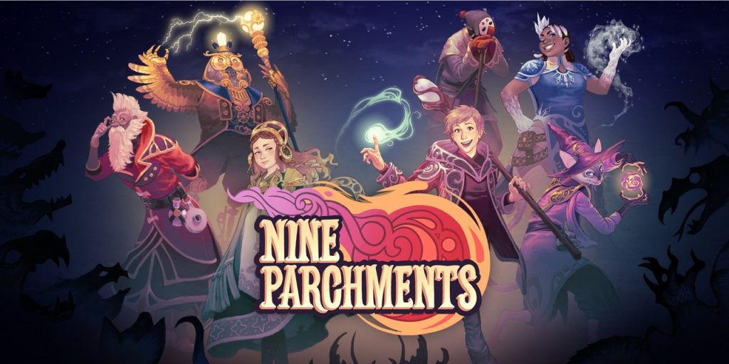 Nine Parchments Banner