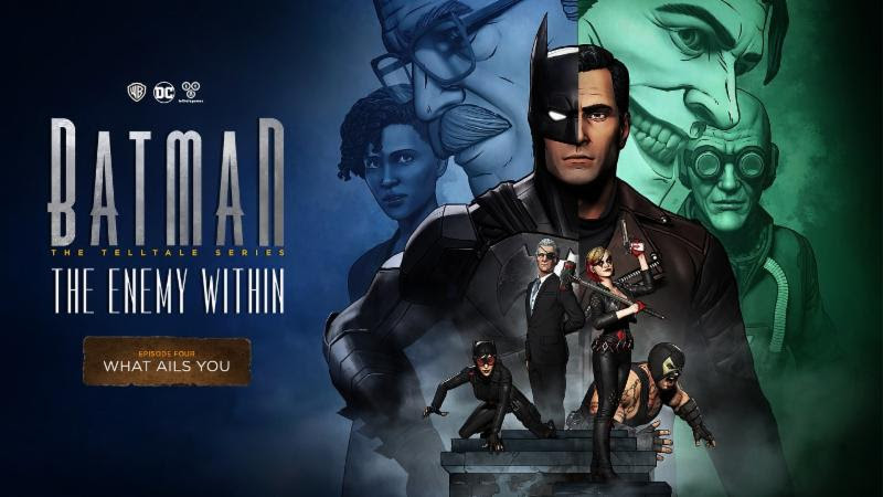 Batman: The Enemy Within, What Ails You Banner
