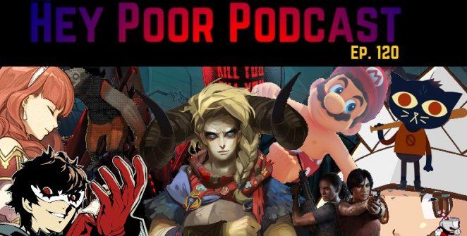 album art for Hey Poor Podcast Episode 120: The 25 Best Games Of 2017