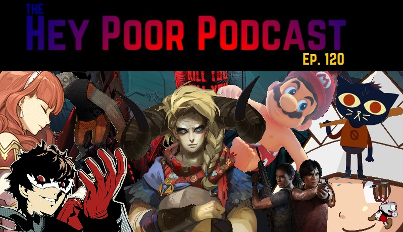 album art for Hey Poor Podcast Episode 120: The 25 Best Games Of 2017