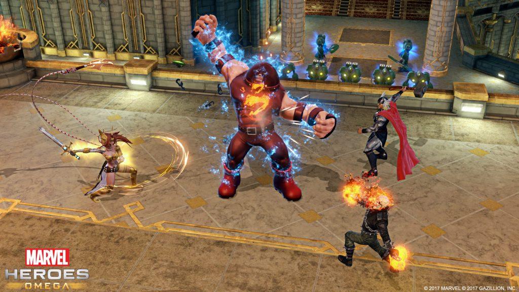 Marvel Heroes Omega 1