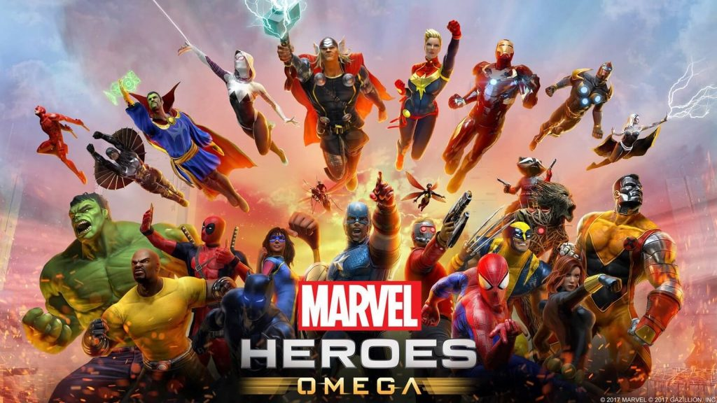 Marvel Heroes Omega Banner