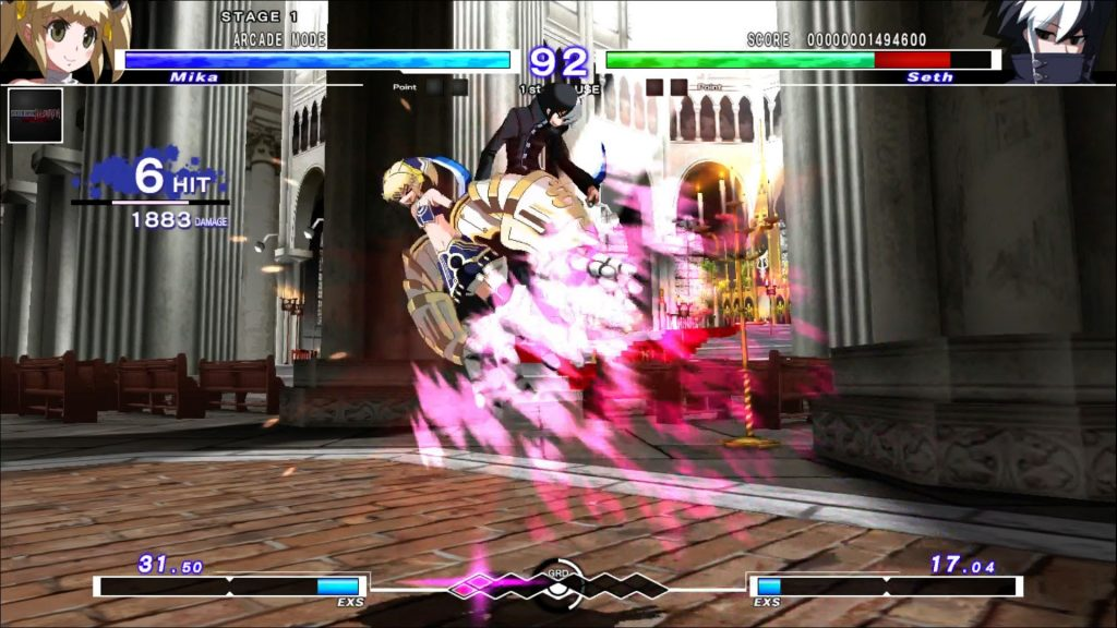 Under Night In-Birth Exe:Late[st] Mika 1