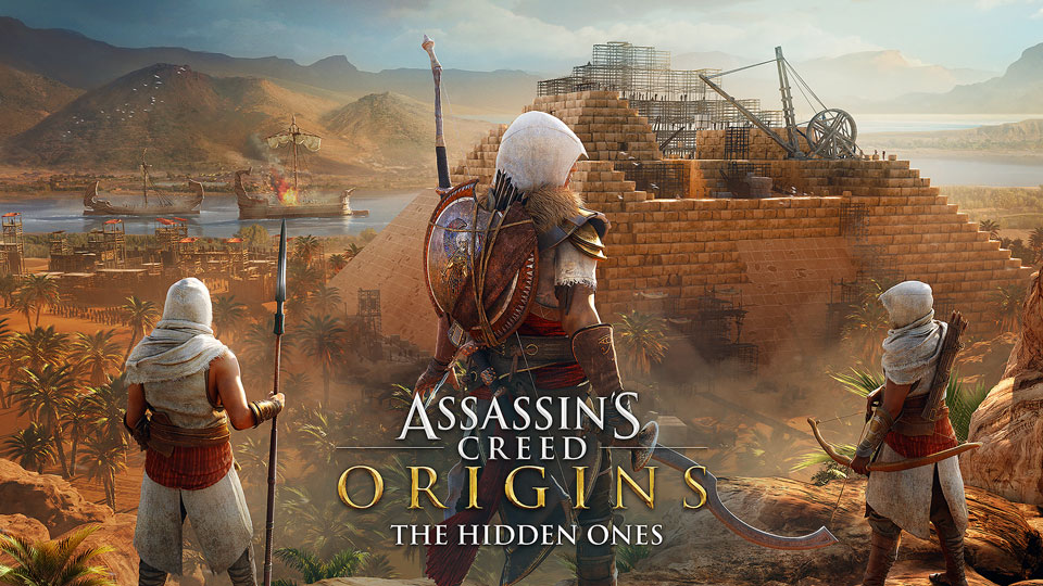 Assassin's Creed Origins: The Hidden Ones promotional image