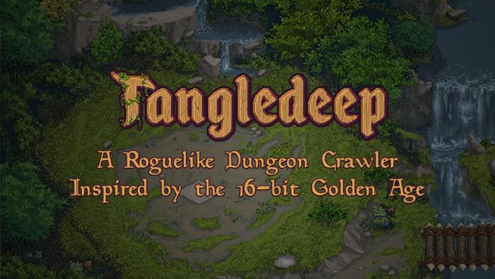 Tangledeep title screen
