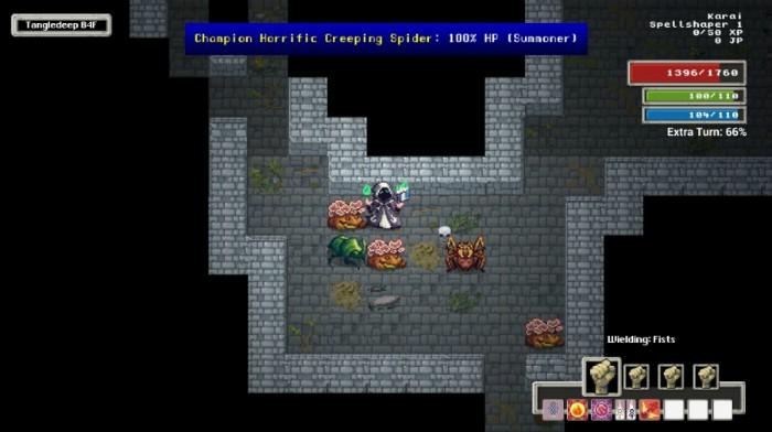 Tangledeep dungeon