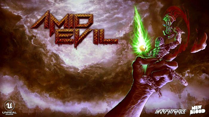 Amid Evil logo