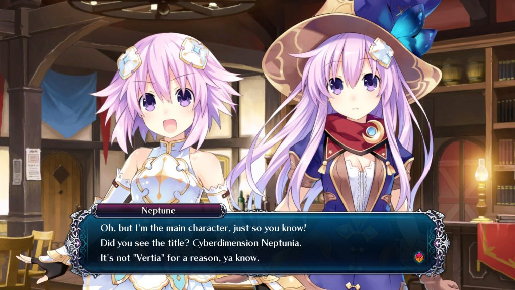 Cyberdimension Neptunia: 4 Goddesses Online 1